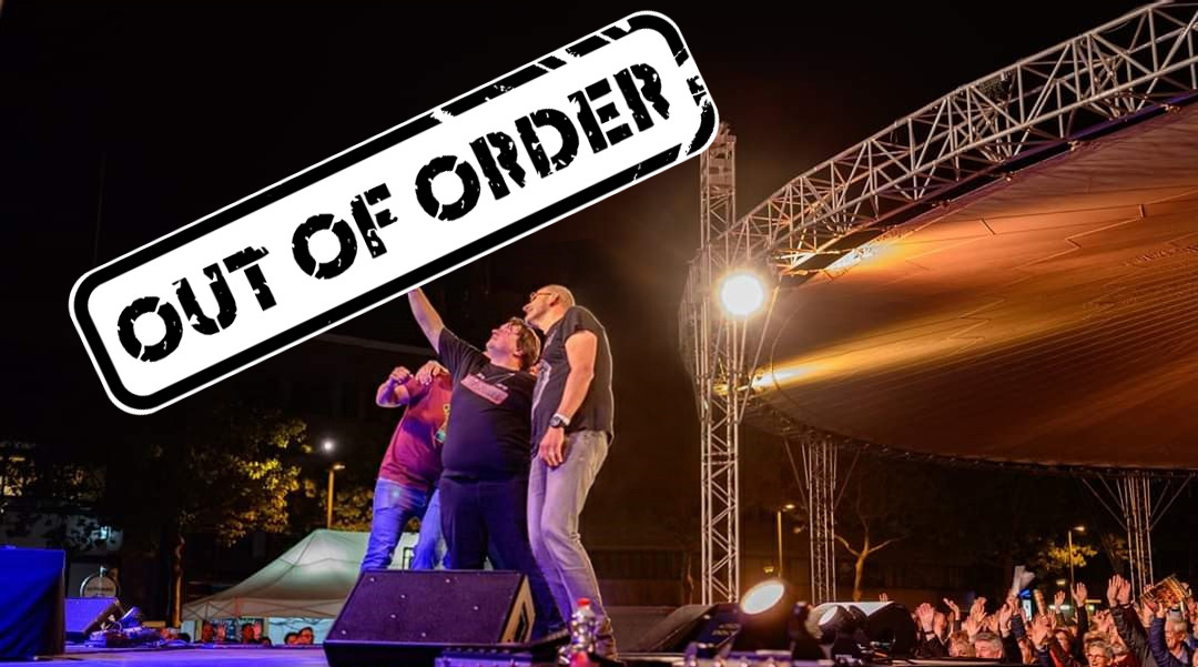 Out of Order coverband